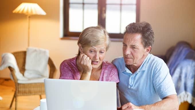 Ekonomin blir knappast bättre för pensionärer efter regeringens skattesänkning, visar prognoser från SPF seniorerna. Foto: Colourbox