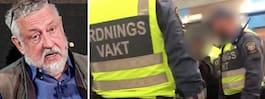 Leif GW Persson om  tunnelbaneincidenten