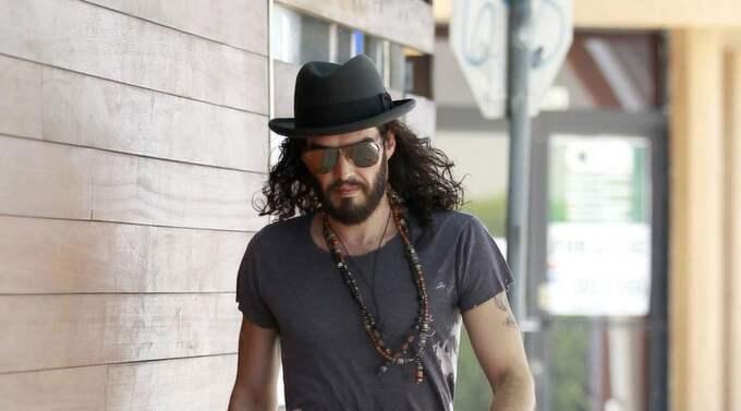 Russel Brand, en typisk hipster. Foto: Bruja/Juan Sharma, Pacificcoastnews.Com