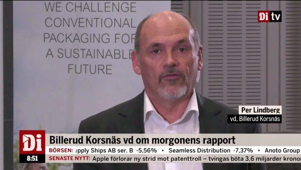 """Billerud Korsnäs vd om morgonens rapport: """"Vårt bästa resultat någonsin"""""""