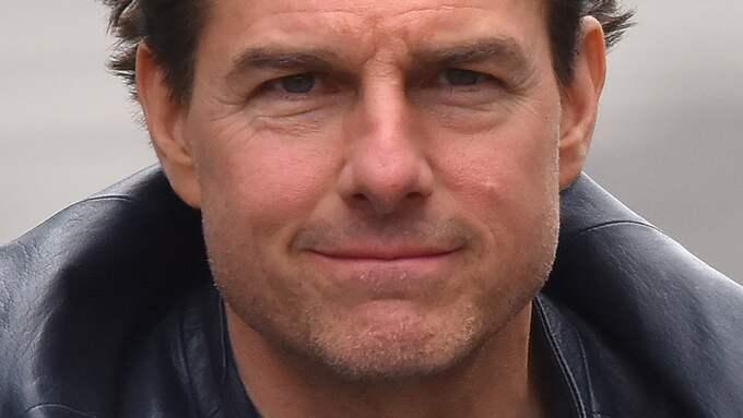 Tom Cruise skulle hoppa från ett tak, men flög in i en byggnad istället. Foto: E-PRESS PHOTO.COM / /IBL E-PRESS PHOTO.COM