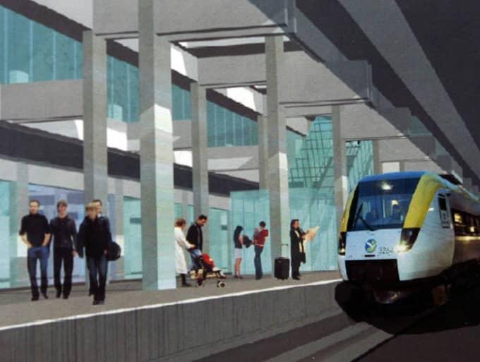 Enligt Wannholt kommer förverkligandet av Västlänken gå minst sju miljarder kronor över budget. Foto: Per Wissing
