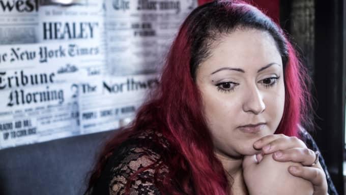 Under de senaste tio åren har Minoo Ödbro gått igenom tre aborter, varav två berodde på komplicerade missfall. Foto: Michaela Hasanovic
