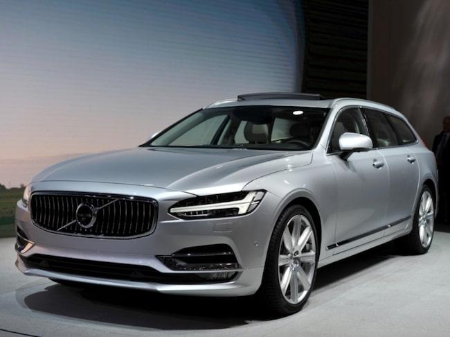 <span>Geely och Volvo planerar att starta ett helt nytt bilmärke, enligt uppgift. Märket ska lanseras i maj där bland annat Horbury och Visser kommer att presentera design och marknadsplan för märket. På bilden Volvo V90.<br></span>