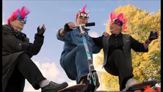 """Pensionärsgänget gjorde succé med """"Bjuva livet"""" - nu släpper de punkvideo"""