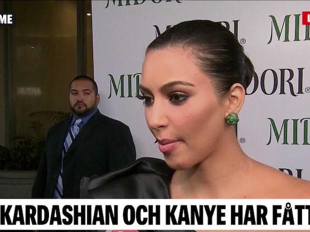Kim Kardashian och Kanye West har fått sitt fjärde barn
