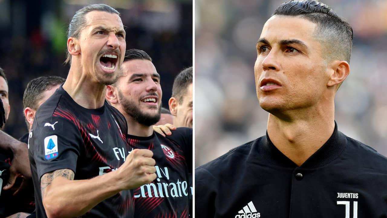 Otroliga siffran: Zlatan snabbaste anfallare i Serie A – krossar Ronaldos tid