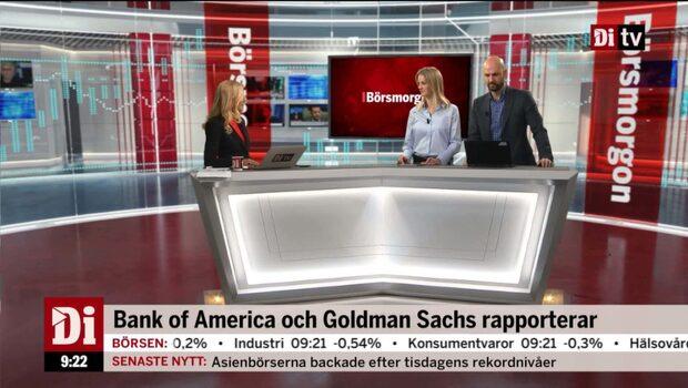 Amerikanska storbankerna rapporterar