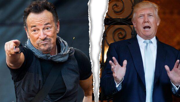 Bruce Springsteen ifrågasätter Trump