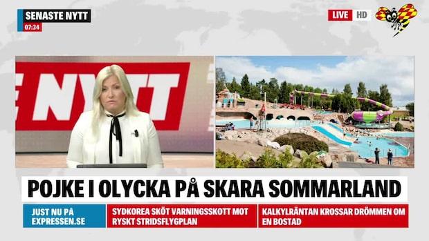 Ny olycka på Skara Sommarland – pojke förd till sjukhus