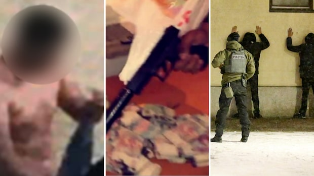 Mordoffrets liv: Hotade polis – poserade med skjutvapen