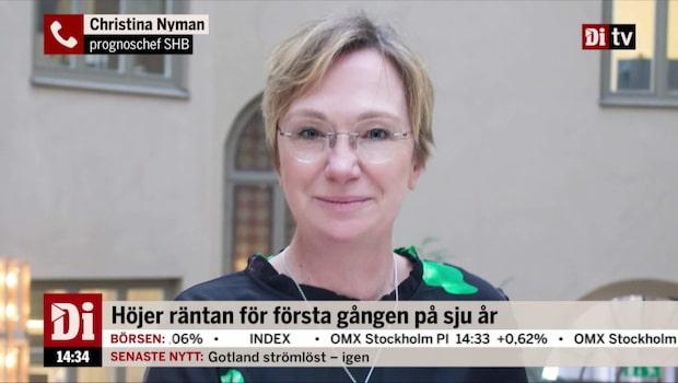 """Nyman: """"En mjuk höjning av norska räntan"""""""