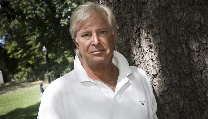 """Ulf Brunnberg har fått nog av """"all feminism som vräks ut"""" i medierna. I stället vill han ha en tv-kanal - enbart riktad till män. Foto: Jonathan Näckstrand"""