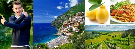 Marcus Birros kärlek till Italien är både massiv och genuin.