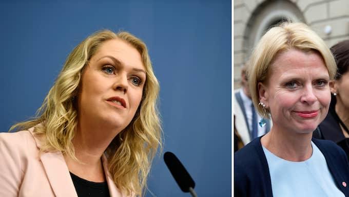 Lena Hallengren (S) efterträder Åsa Regnér (S) som barn-, äldre- och jämställdhetsminister.