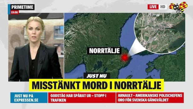 Polisen utreder misstänkt mord i Norrtälje