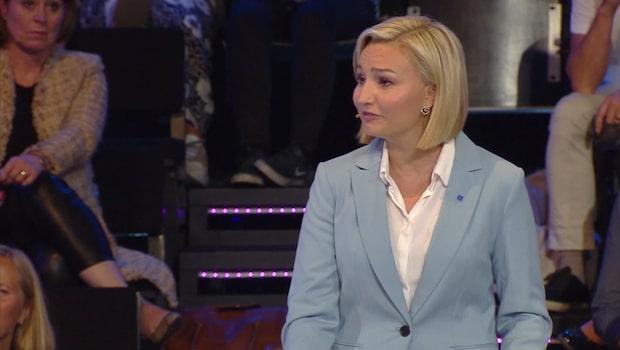 """Ebba Busch Thor: """"Tack för den klappen på huvudet"""""""