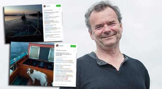 """Steffo Törnquist i sjönöd: """"Min hustru tyckte inte det var ..."""