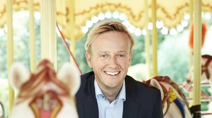 Lisebergs VD Andreas Andersen kommer ta över branschens tyngsta förtroendeuppdrag under 2018. Foto: Pressbild