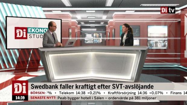 Swedbank rasar efter misstankar om penningtvätt