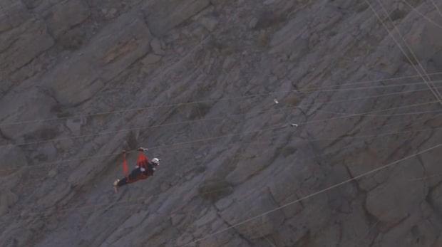 Skulle du våga åka världens längsta zipline?