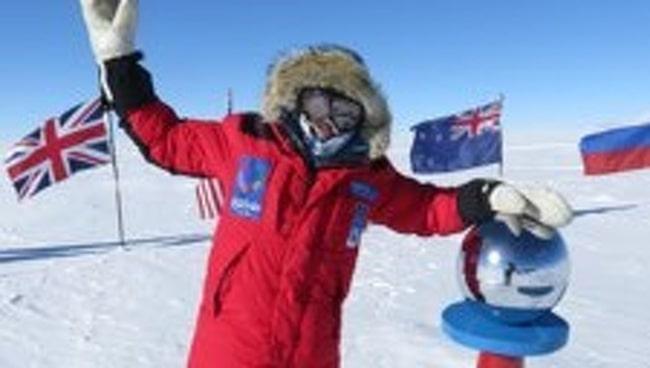 Johanna Davidsson, 33, blev första svenska kvinna att åka skidor själv till Sydpolen.