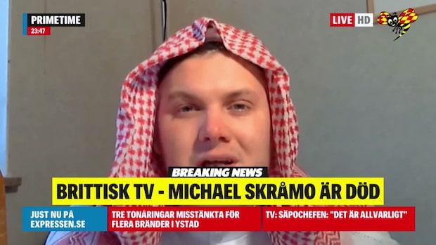 Engelsk tv: IS-terroristen Michael Skråmo är död