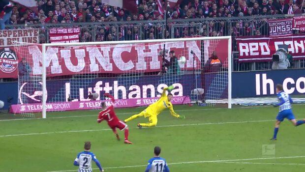 Höjdpunkter: Hertha Berlin-Bayern München