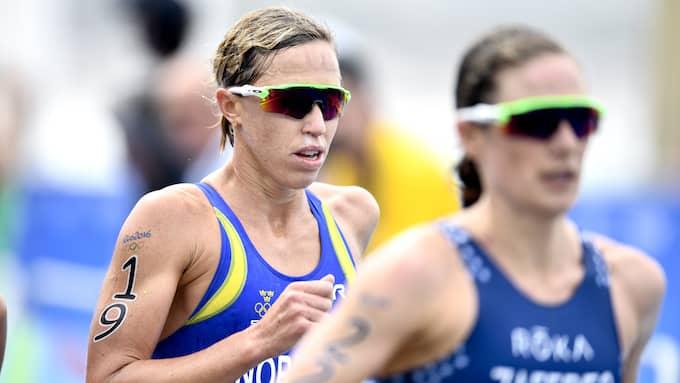 Lisa Nordén slutade på 16:e plats i OS i Rio förra sommaren. Foto: CARL SANDIN / BILDBYRÅN