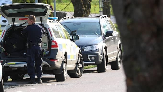 Polisen fick in ett larm om en drunkning på torsdagskvällen. Foto: Torbjörn Axelsson