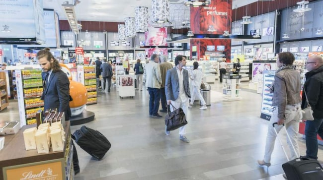 handbagage vätska norwegian