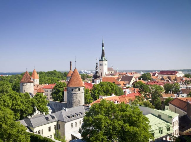 Tallinns gamla stad, Vanalinn, har en väl bevarad, medeltida miljö.