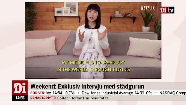 Inför Weekend: Exklusiv intervju med städgurun