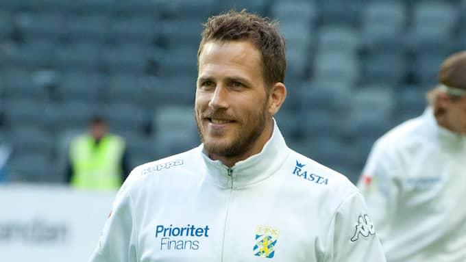 Tobias Hysén är bättre tränad än på länge. Foto: HENRIK ISAKSSON/IBL