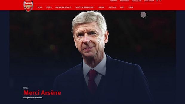Efter 22 år – Arsene Wenger lämnar Arsenal