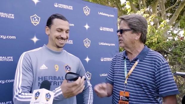 Reporterns present till Zlatan – läsglasögon