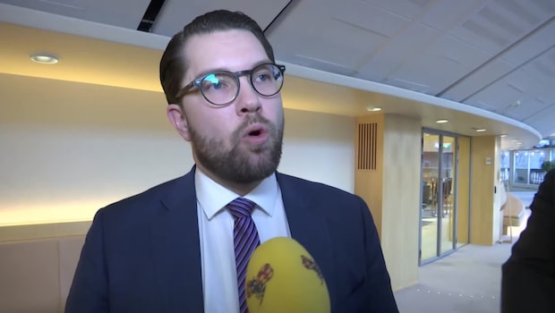 Jimme Åkesson (SD) om budgetförslagen