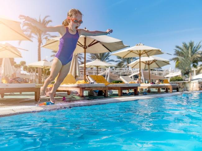Charterhotellen är populära bland barnfamiljer och sol-och badresenärer.