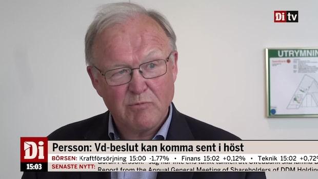 Göran Persson inför inträdet som Swedbank-ordförande