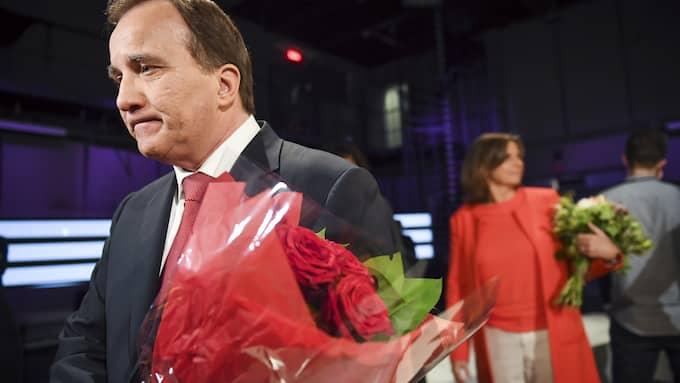 Stefan Löfven tar inte sitt ansvar för ödesfrågan. Foto: MAJA SUSLIN/TT / TT NYHETSBYRÅN