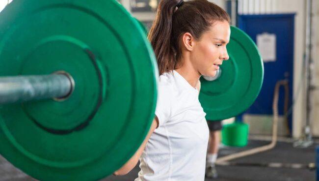 Dra och släpp för de olika alternativen. Vad är viktigt för just dig när du tränar?