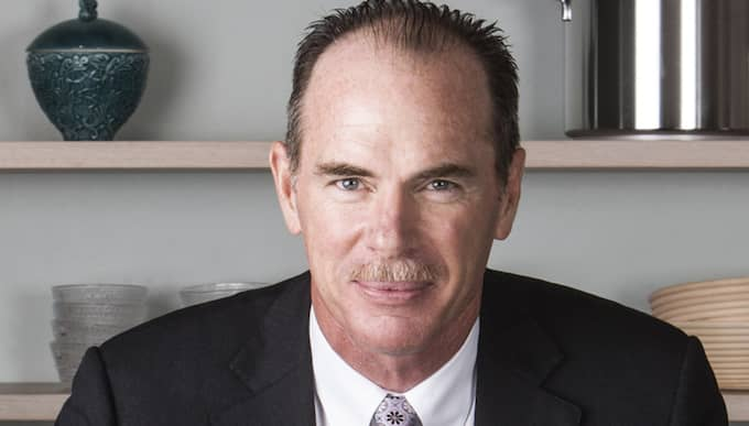 Electrolux avgående vd Keith McLoughlin slipper jobba kvar de sex månader hans kontrakt tvingar honom till. Foto: Electrolux