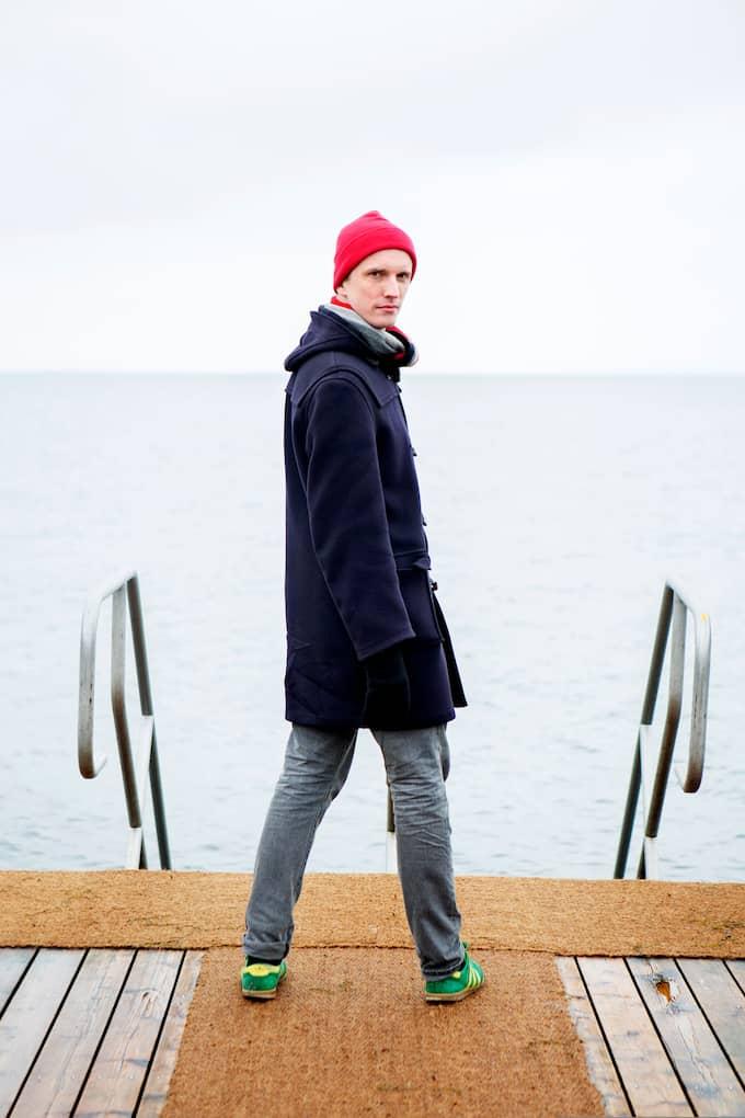 """Ola Söderholm, producent och värd för """"Lilla drevet"""", får Expressens Björn Nilsson-pris för god kulturjournalistik 2017. Foto: FOTOGRAF ELLINOR COLLIN"""