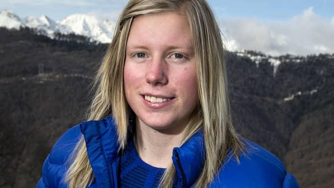 Sandra Näslund. Foto: PONTUS LUNDAHL / TT / TT SPORT TT NYHETSBYRÅN