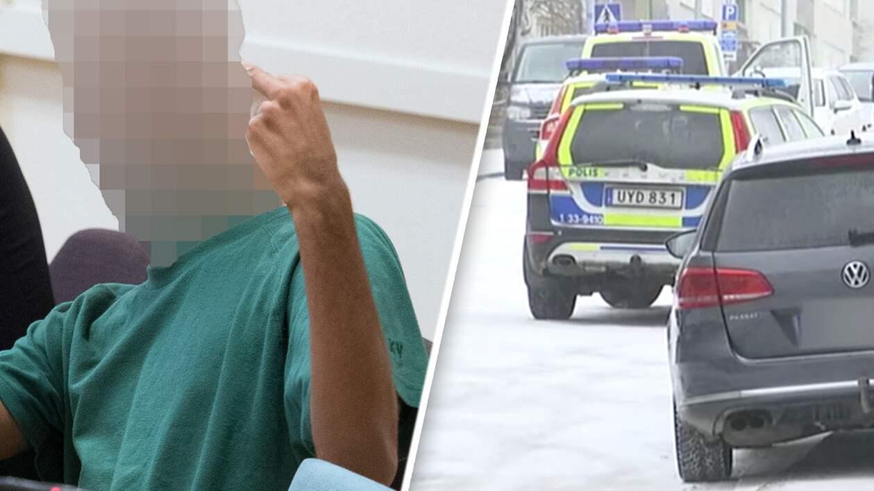 Aklagaren vill falla 21 aringen for polismord