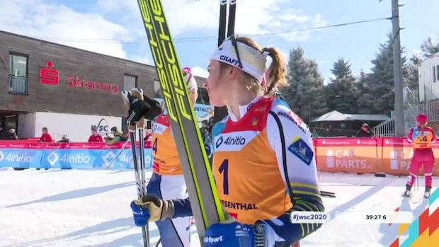 """Här vägrar Ebba hoppa efter segern: """"Fånigt"""""""