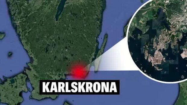 Lokal avspärrad i sökandet efter  försvunnen man i Karlskrona
