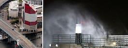 SMHI:s varningar: Stormen Knud slår till med full kraft