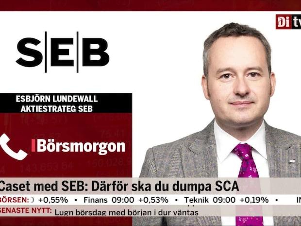 SEB: Därför ska du sälja SCA