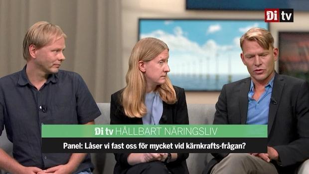Se hela paneldiskussionen efter kärnkraftsdebatten